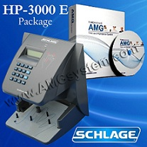 Biometric HandPunch 3000-E Package