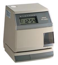 Refurbished Amano Pix-3000x Certified Timeclock