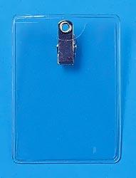 Clip On Badge Holders Vertical Format