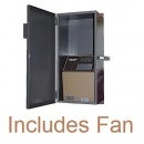 Weather Resistant Enclosure with Fan for Amano MJR Series