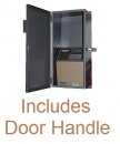 Weather Resistant Enclosure with Handle for Amano MJR Series