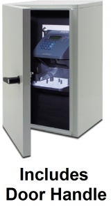 Weather Resistant Enclosure with Handle for HandPunch GT 400