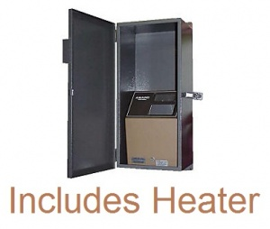 Weather Resistant Enclosure with Heater for Amano MJR Series