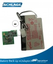 Backup Battery for HandPunch F-Series including Adapter Module