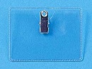 Clip On ID Holders. Horizontal Format