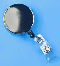 Badge Reels - Metal Case (Chrome)