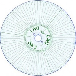 Acroprint PD-72 Hour Watchman's Disk