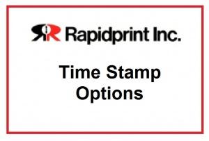 Rapidprint Option   ISO Standard Sequence   Custom Engraving