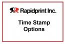 Rapidprint Option  / Number Wheels
