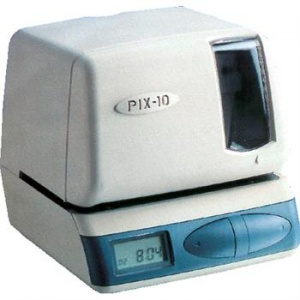 Refurbished Certified Amano Pix-10 Employee Time Clock