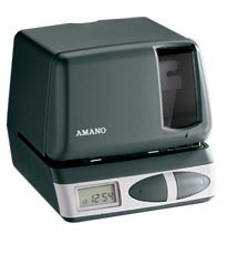 Refurbished Amano Pix-21 Certified Timeclock