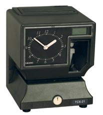 Refurbished Amano TCX-21 Certified Timeclock