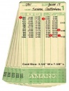 Employee Time Cards for Amano MJR 7000 & MJR 8000 Time Clock | QTY 1000