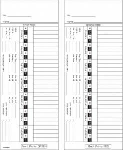 Time Card Lathem 1000E Bi-Weekly Double Sided Timecard AMA5400 Box of 1000